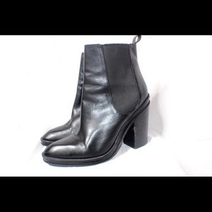 Genuine leather Aldo Booties Us 10